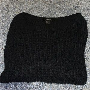 Black barely worn sweater